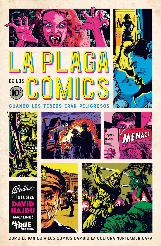 Resultado de imagen de La plaga de los cómics de David Hajdu